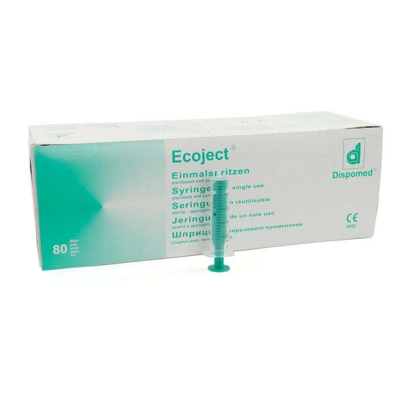 Dispomed Ecoject, 20 ml Disposable Syringe