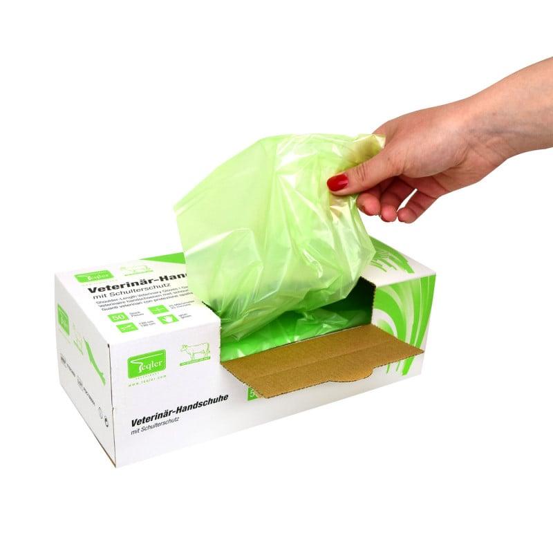 En una práctica caja para un desmontaje higiénico y seguro
