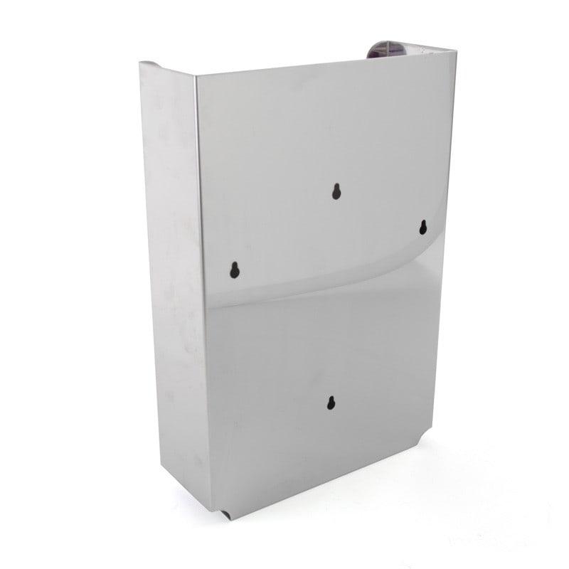 Edelstahl-Spender inkl. Befestigungs-Material mit einfacher Montage