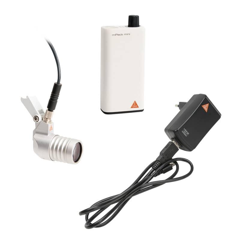 Inklusive mPack mini, Verbindungskabel und USB-Steckernetzteil