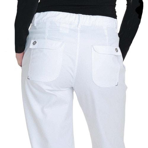 Białe spodnie medyczne HIZA