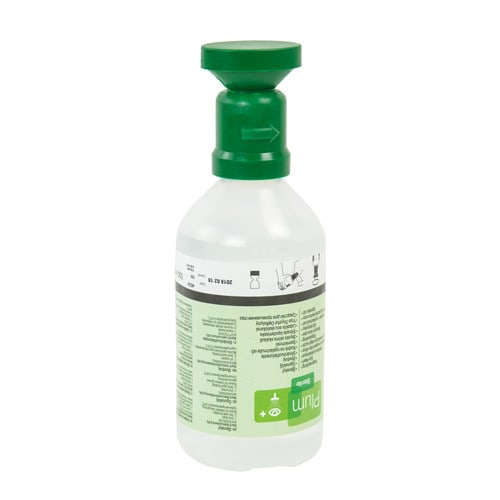 PLUM, station de lavage oculaire, 500ml