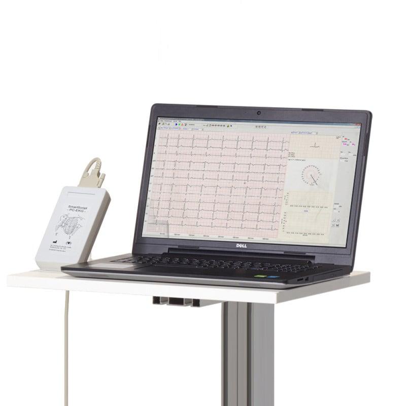 PC-basiertes 12-Kanal Ruhe-EKG mit umfangreichem Zubehör