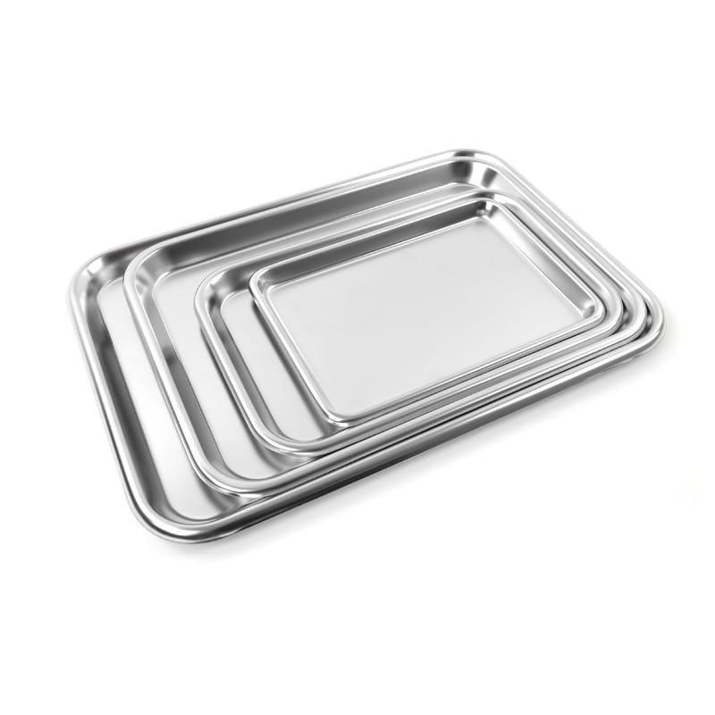 Teqler Stainless Steel Tray