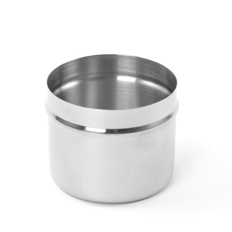 Stainless-steel storage container | Ideal as a dressing jar