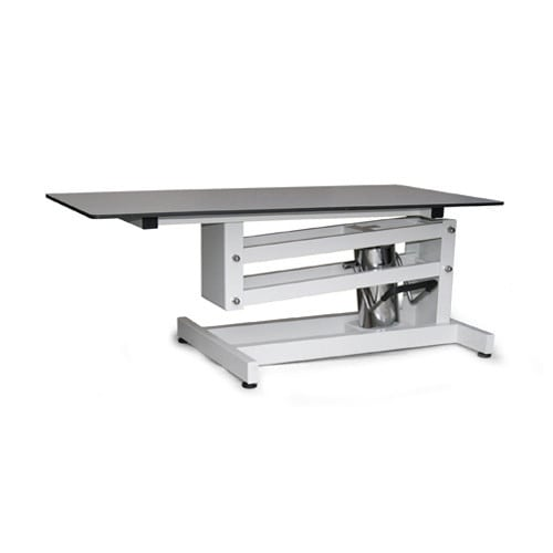 Veterinary lifting table