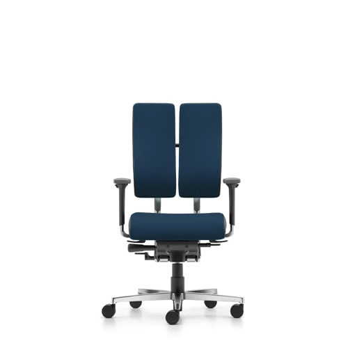 Rohde Grahl Xenium Duo Back Balance Office Chair Ocean Blue Praxisdienst
