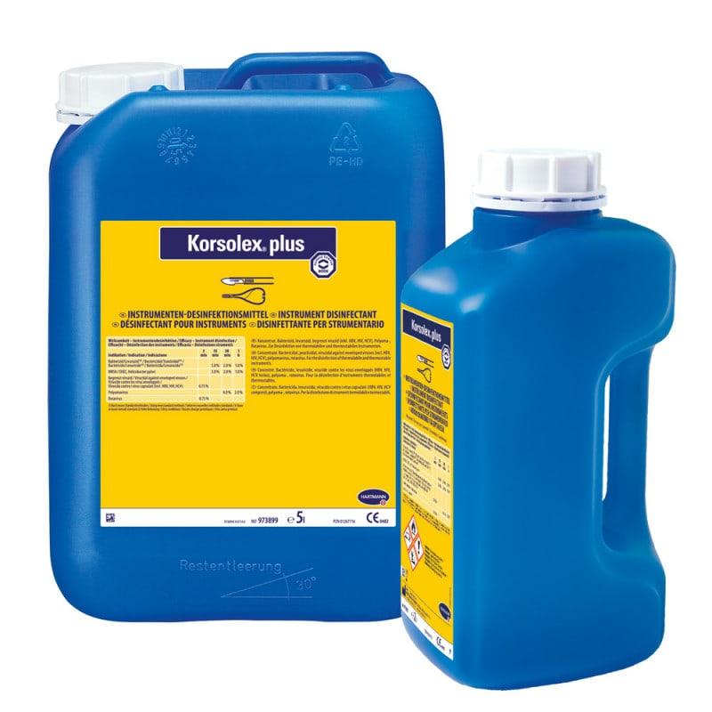 Korsolex plus, dezynfekcja narzędzi