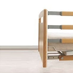 """Trix"" Bed Rails for ""Velino"" Nursing Beds"