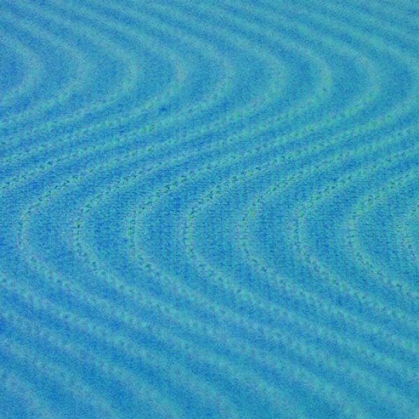 Hypoallergener Acrylkleber, S-wellenförmig aufgebracht