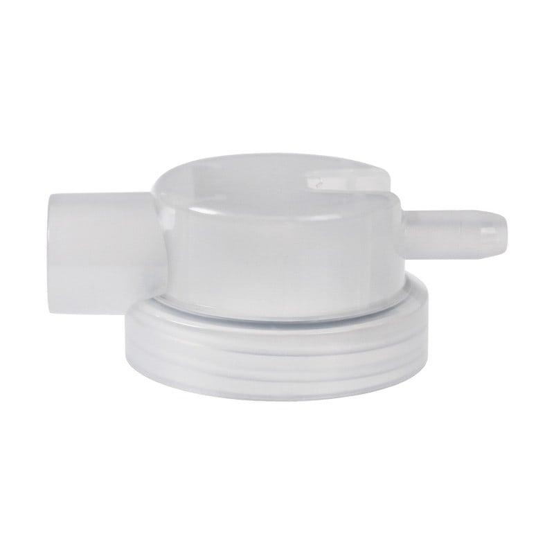 Tapa de aspiración con conexión de 15 mm de diámetro interior