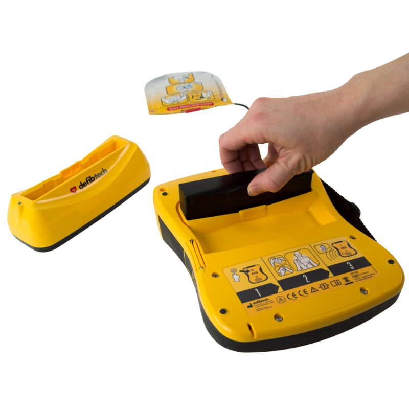 Lifeline ECG Defibrillator