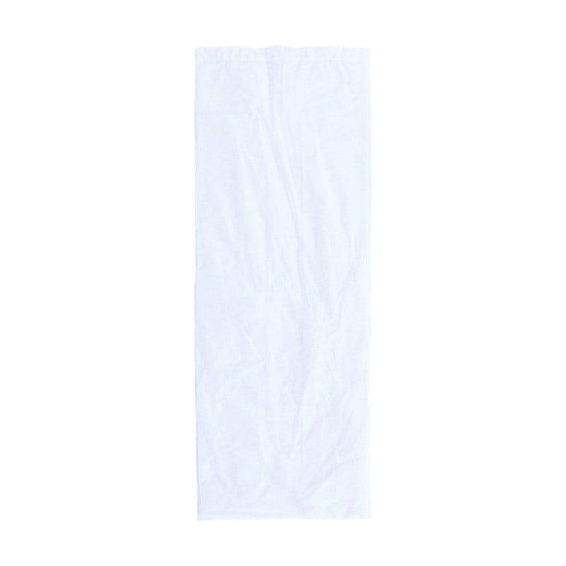 Weiße Hygienebeutel, Maße: 75 x 240 mm (B x L)