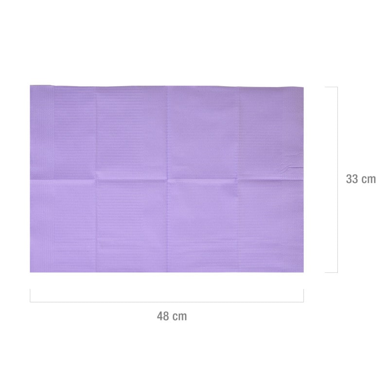 Podkład o wielkości 33 x 48 cm - idealne jako podkład przy badaniach, zmianie opatrunku itp.