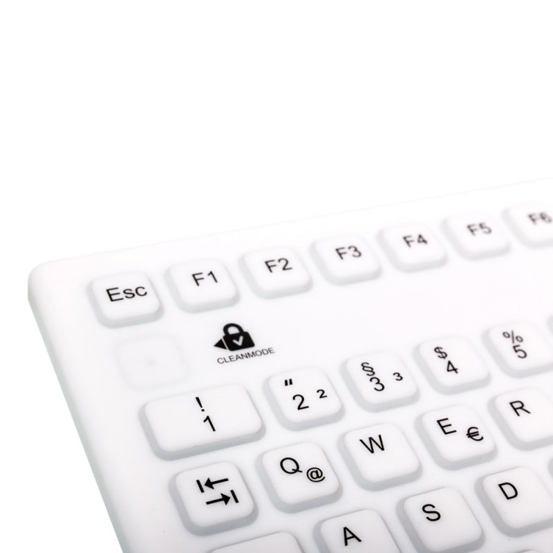 Mit KeyLock-Funktion zum Sperren der Tasten während der Reinigung