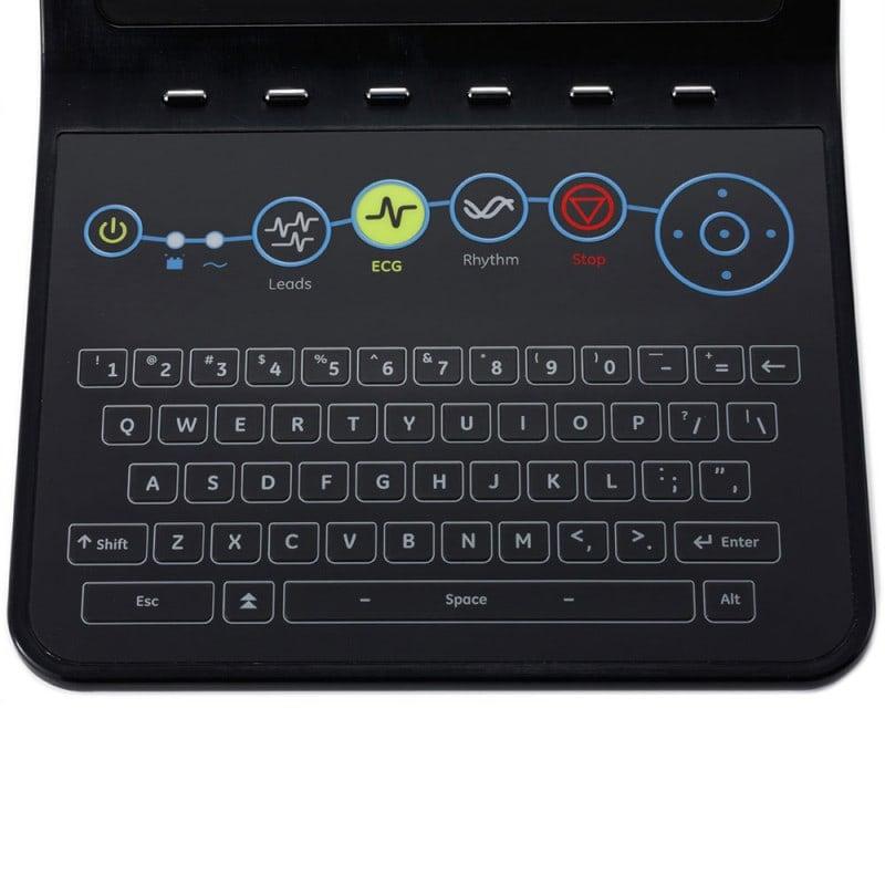 Komplette Folien-Tastatur, abwaschbar und desinfektionsmittelbeständig