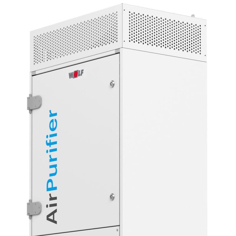 Intercambio de aire 4 a 6 veces por hora mediante tecnología de ventiladores EC