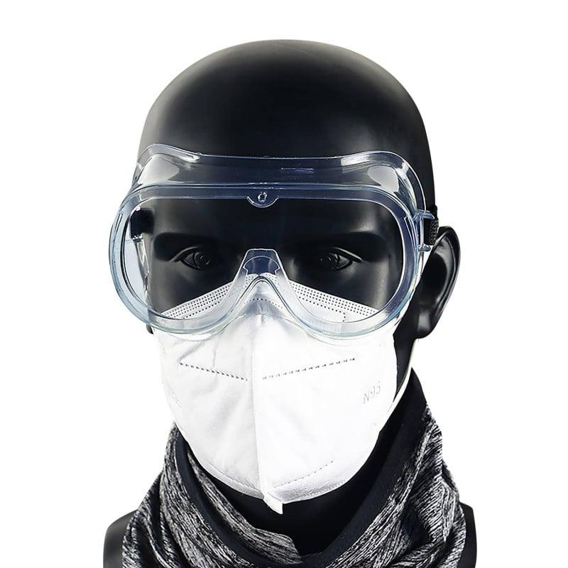 Hermetisch geschlossene Arbeitsschutzbrille