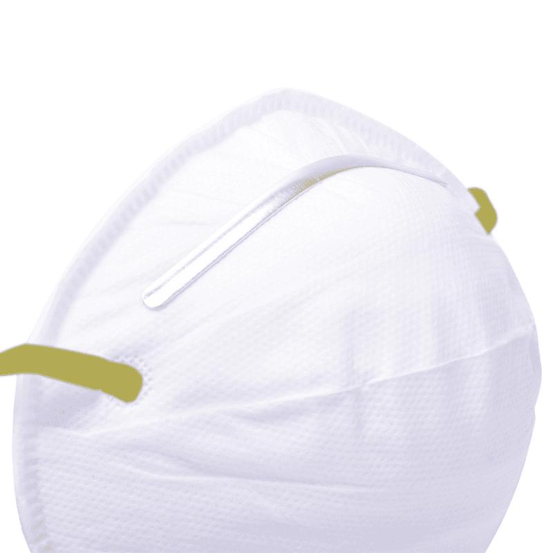 Schuimrubber polstering voor de neusbeugel