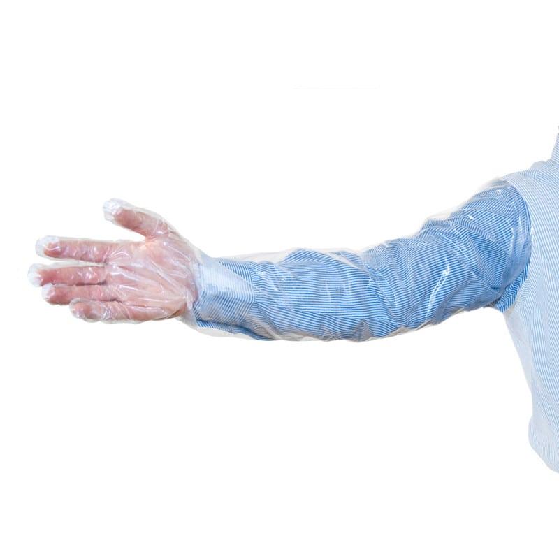 Rękawice weterynaryjne długie