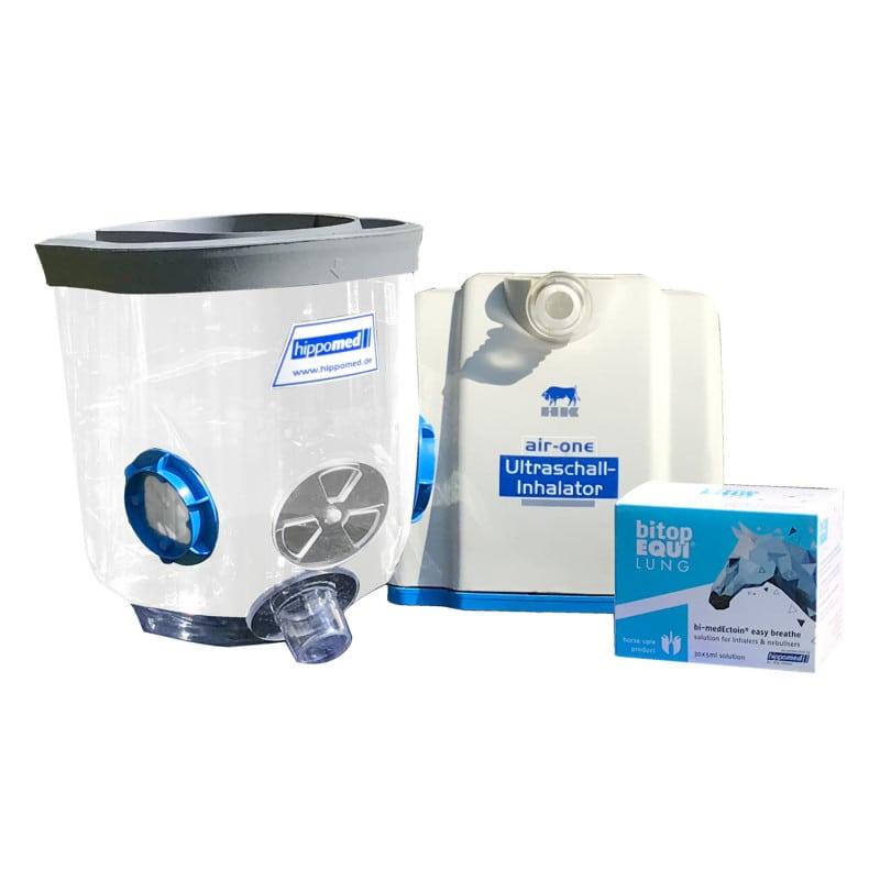 Especialmente aptp para la nebulización con el inhalador Air-One para caballos