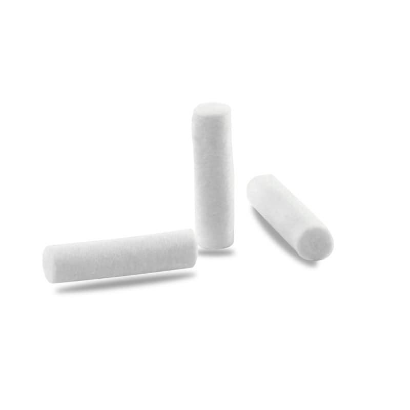 Formstabile und fusselfreie Watterollen, mit guter Schleimhautverträglichkeit