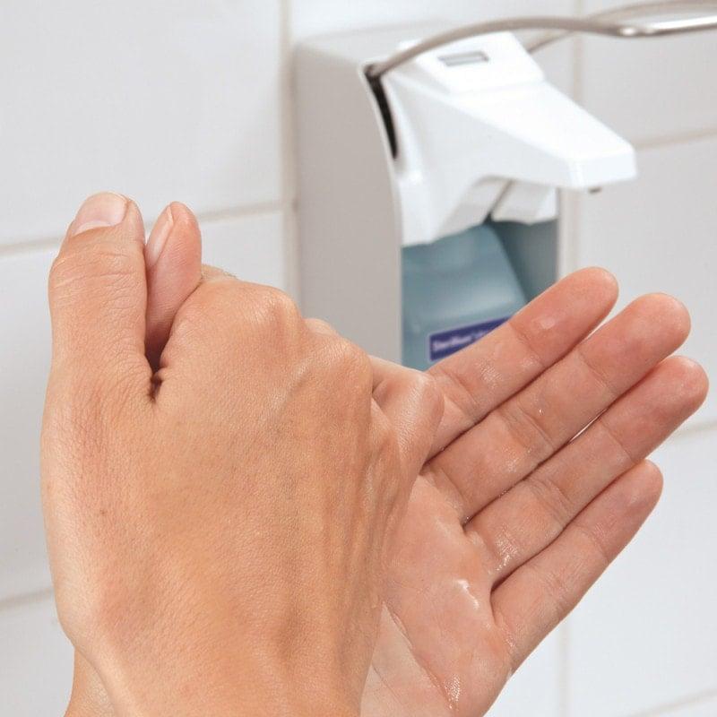 Für die hygienische und chirurgische Händedesinfektion geeignet