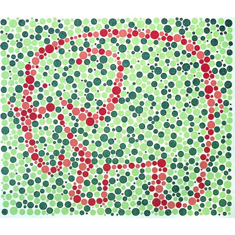 Test de vision des couleurs Matsubara (10 planches)