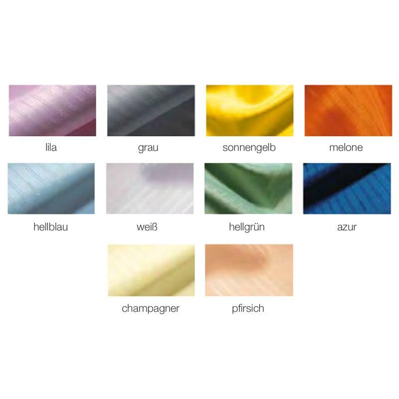 El separador de ambientes está disponible en una amplia gama de atractivos colores