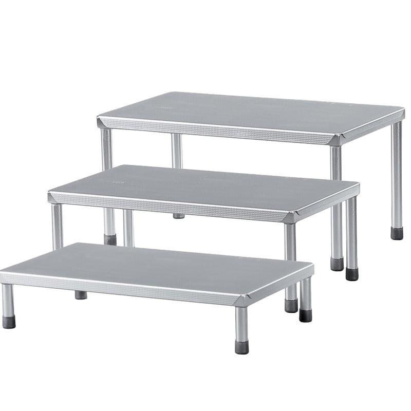 Dimensions : 60cm x 35cm (L x P), disponible en différentes hauteurs
