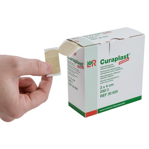 Curaplast sensitive plaster poiniekcyjny