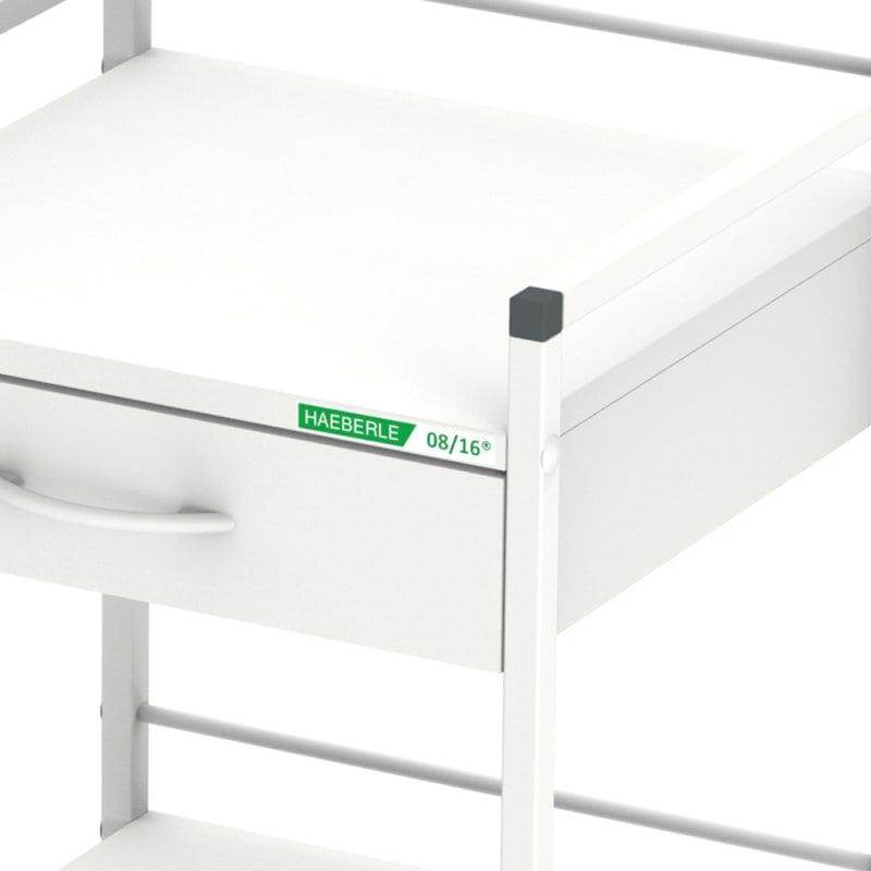 Schublade aufgrund Einrastmechanismus mit einem Handgriff zu entnehmen