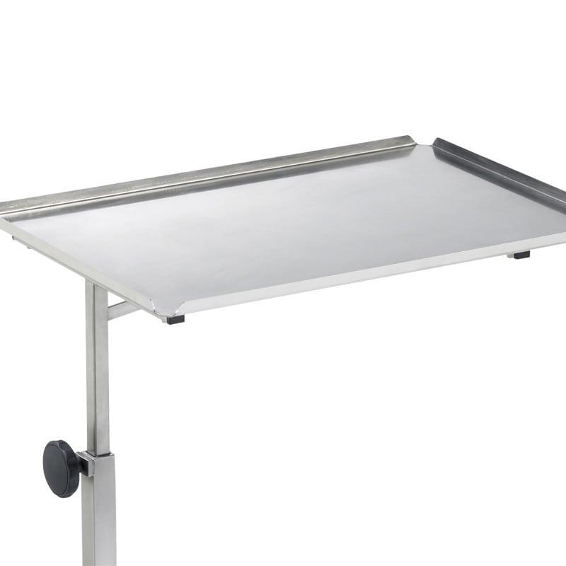 40 x 60 cm große Tischplatte mit 15 mm Aufkantung