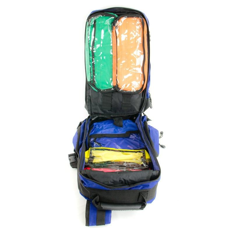 sac dos de secours vide bleu standard praxisdienst. Black Bedroom Furniture Sets. Home Design Ideas