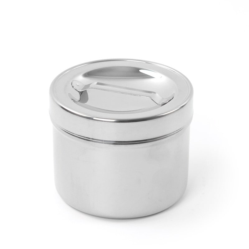 Included lid helps protect contents from contamination