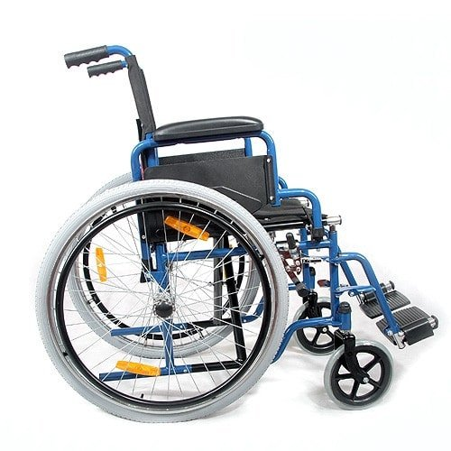 Robust, Folding Wheelchair