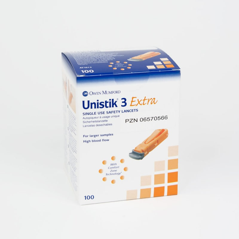Disposable Lancets Unistik 3