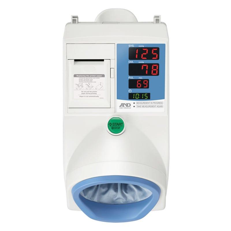 Los resultados de la medición se imprimen inmediatamente a través de la impresora térmica integrada