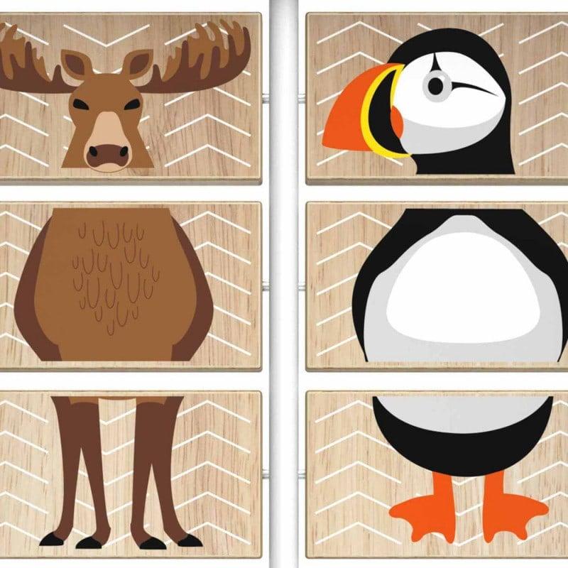 Mit liebevoll gestalteten Tiermotiven