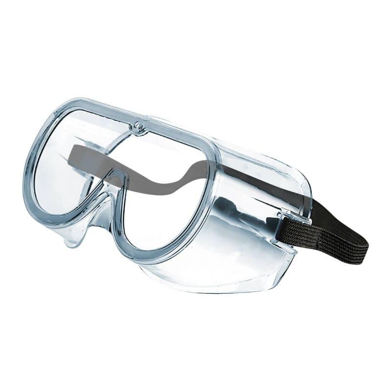 Komfortabler seitlicher Augenschutz
