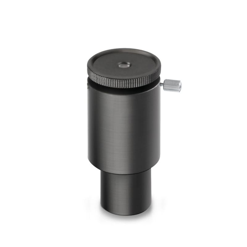The phase contrast microscope is supplied with a centring eyepiece