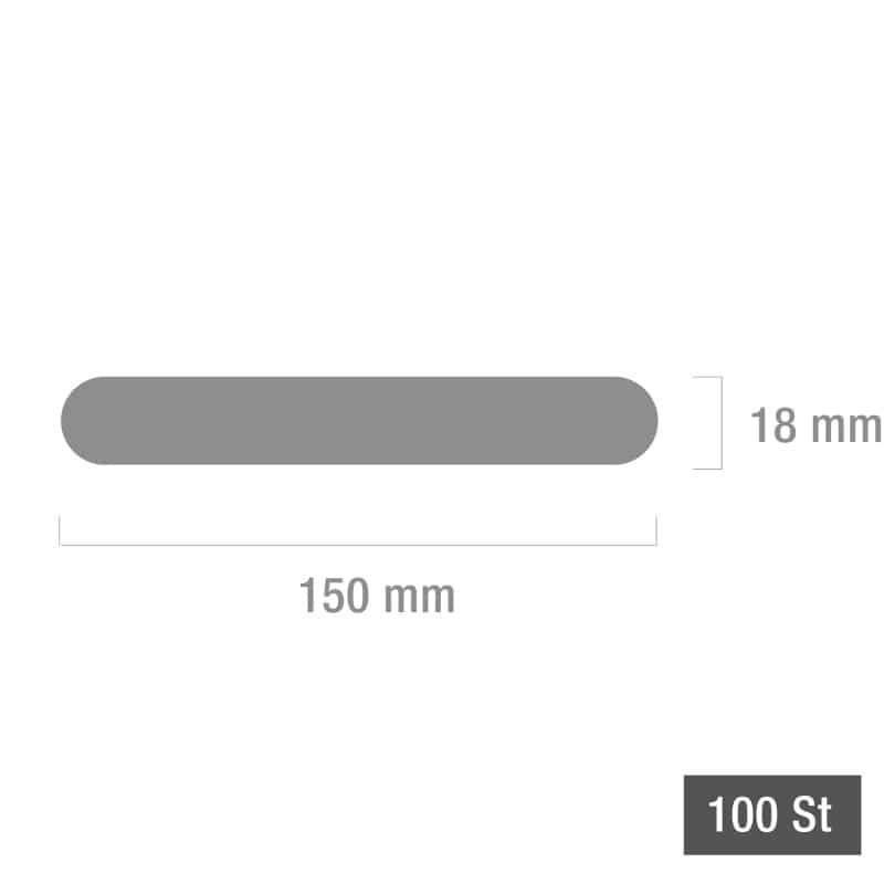 Houten tongspatels, 100 stuks