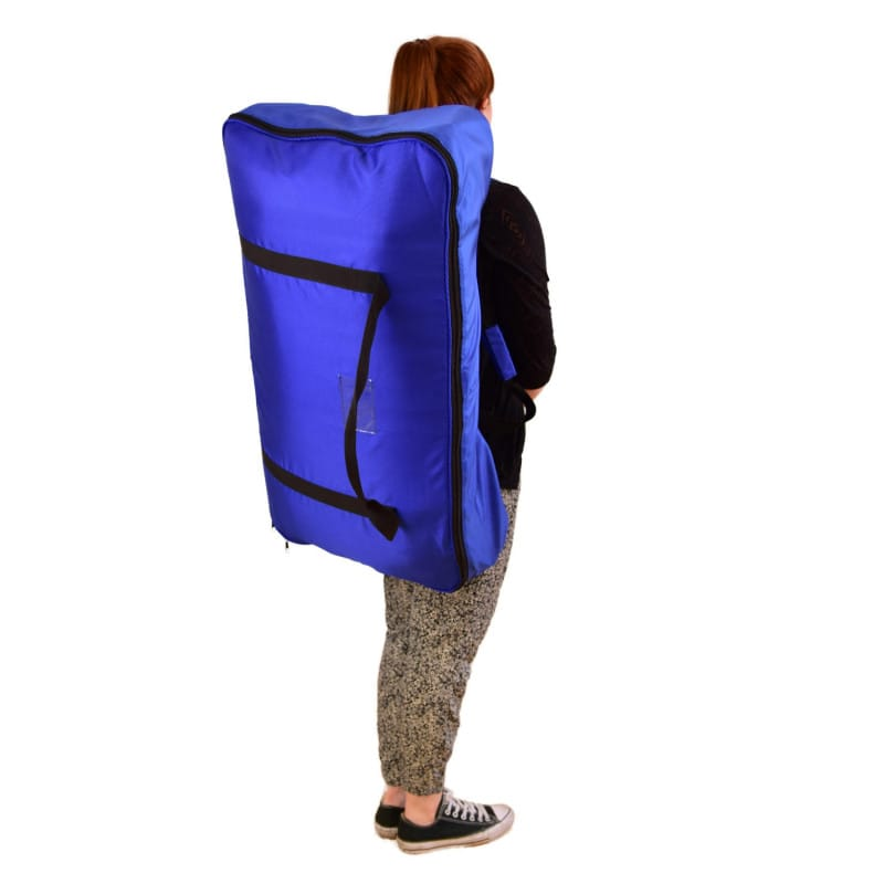 Comprend un sac de transport pratique - peut aussi être porté comme sac à dos