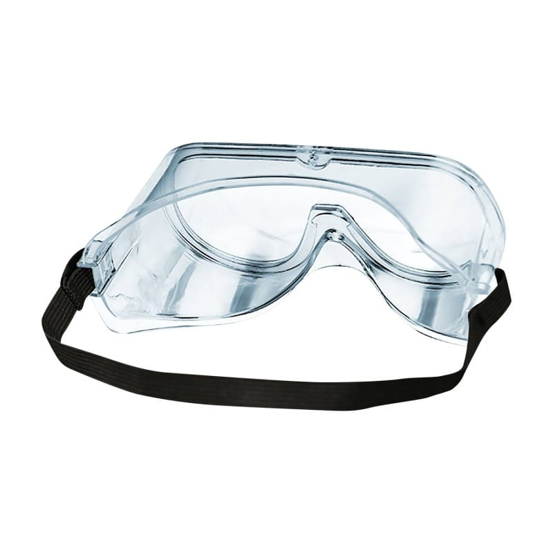 Schutzbrille mit Anti-Fog-Beschichtung und abgerundeten Kanten