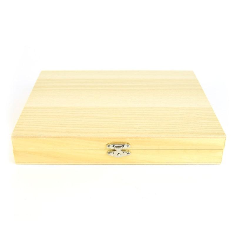 Stabilna skrzynka drewniana