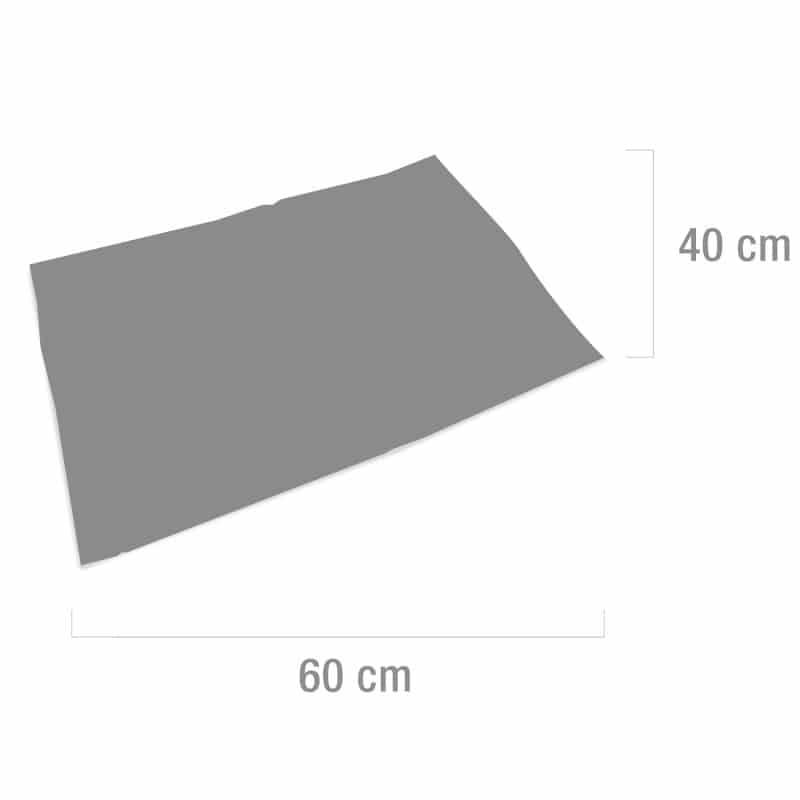Die saugfähigen Unterlagen besitzen eine handliche Größe von 40 x 60 cm