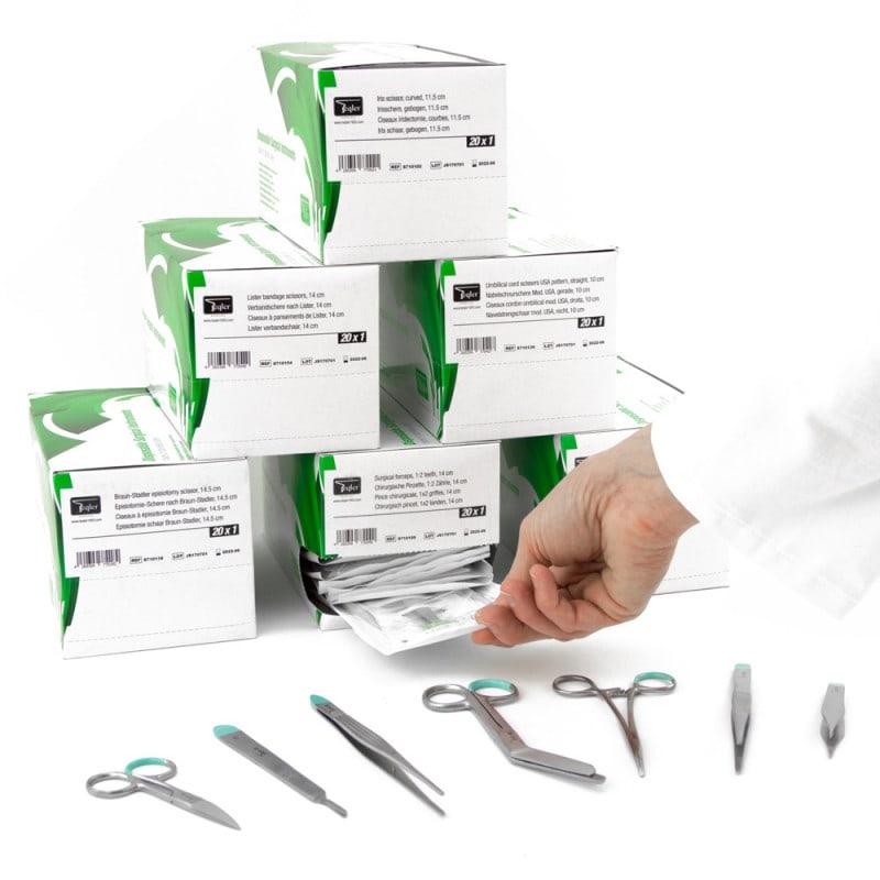 Spenderkarton mit einfacher, innovativer Entnahme-Möglichkeit