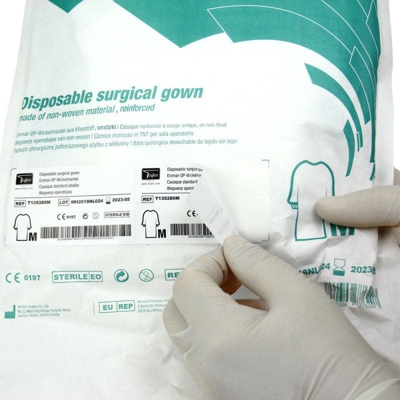Bata quirúrgica Teqler «Reinforced»