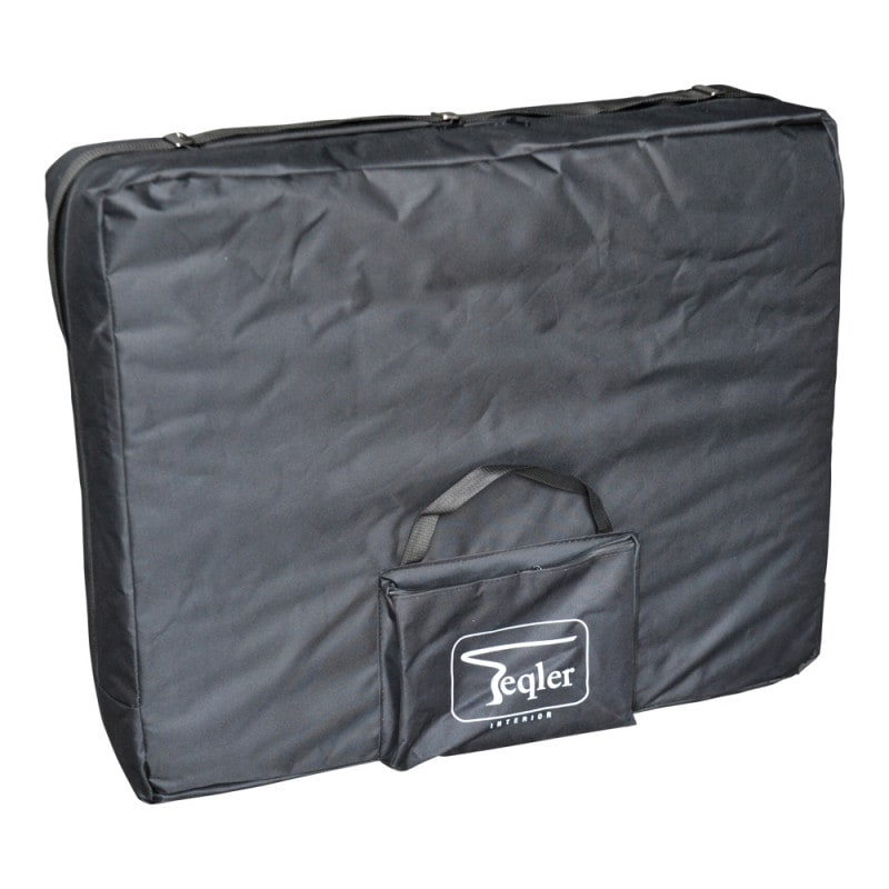 Z praktyczną, nylonową torbą transportową