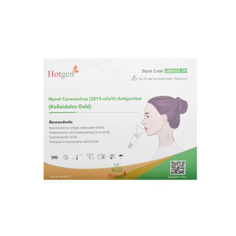 Test salivare antigenico COVID-19 Hotgen
